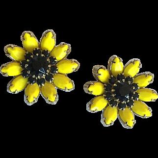 Weiss Sunflower Earrings
