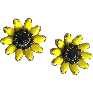Weiss Sunflower Earrings