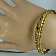 1907 Hallmarked gold Bangle * * * * *