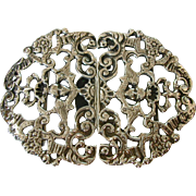 1899 ENGLISH Silver Nurses Buckle