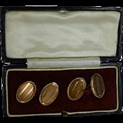 Rose 9k Gold Hallmarked 1925 ENGLISH Cuff links