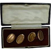 Rose 9k Gold Hallmarked 1925 ENGLISH Cuff links