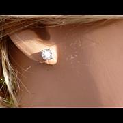 1 carat  Diamond EAR STUDS * * * * *