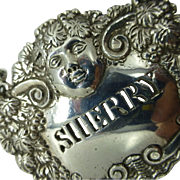 Vintage Sherry Silver Label