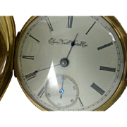 "Elegant 14k  Gold ""Elgin"" gents Pocket Watch"