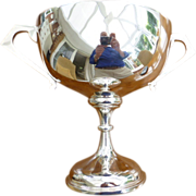 1921 Solid SILVER Trophy Cup