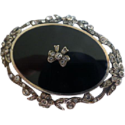 Large Oval Art Deco style Brooch