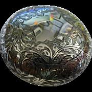 Fine Solid Silver English Tobacco Box 1907