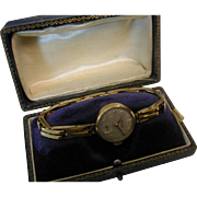 Retro Ladies Gold 1967 Watch & Bracelet