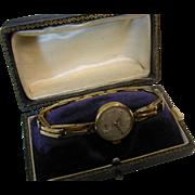 Retro Ladies Gold 1967 Watch & Bracelet