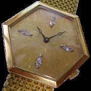18ct. Gold & Diamond Gents Watch & Bracelet