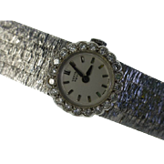 1 carat  Diamond Ladies 18k watch & Bracelet...