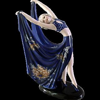Goldscheider Dancer Signed Dakon