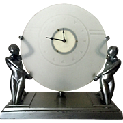 Frankart Art Deco Clock