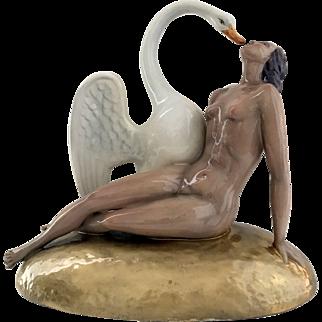 Lenci Nude with Swan