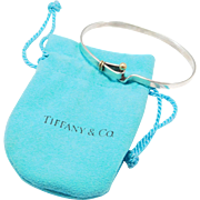 925 750 Tiffany & Company Bracelet Hook & Eye Clasp Motif