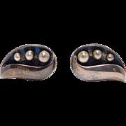 Mexican Silver Taxco Sigi Pineda Vintage Cufflinks