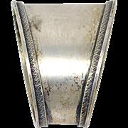 Russian Victorian 84 Silver Napkin Ring Abrosimov