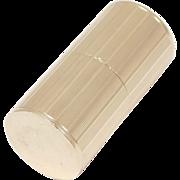 14k Art Deco Signed Cartier Engraved Pill Box 11.8 Grams