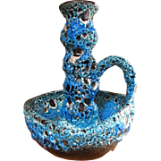 Charles Cart FAT LAVA~ Annecy France Pottery Le Cyclopes