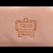 Antique CARTIER leather Box