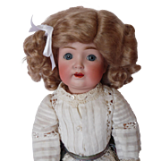 Antique German Bisque Doll 13 inch Kestner #260