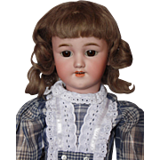 Simon Halbig 1249 Santa Antique German Bisque Head Doll - 21""