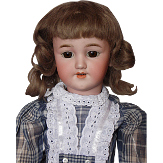 "Simon Halbig 1249 Santa Antique German Bisque Head Doll - 21"""