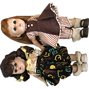 Two Vogue Ginny Dolls