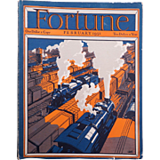 Vintage Fortune Magazine February 1931