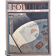 Vintage Fortune Magazine February 1934
