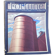 Vintage Fortune Magazine April 1939