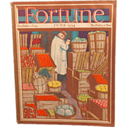 Vintage Fortune Magazine June 1934