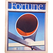 Vintage Fortune Magazine June 1939