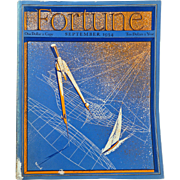 Vintage Fortune Magazine September 1934