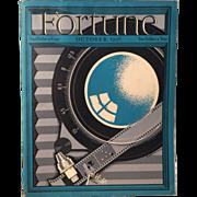 Vintage Fortune Magazine October 1936