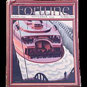 Vintage Fortune Magazine November 1935