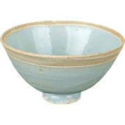 Chinese qingbai tea bowl Song dynasty circa 13th century