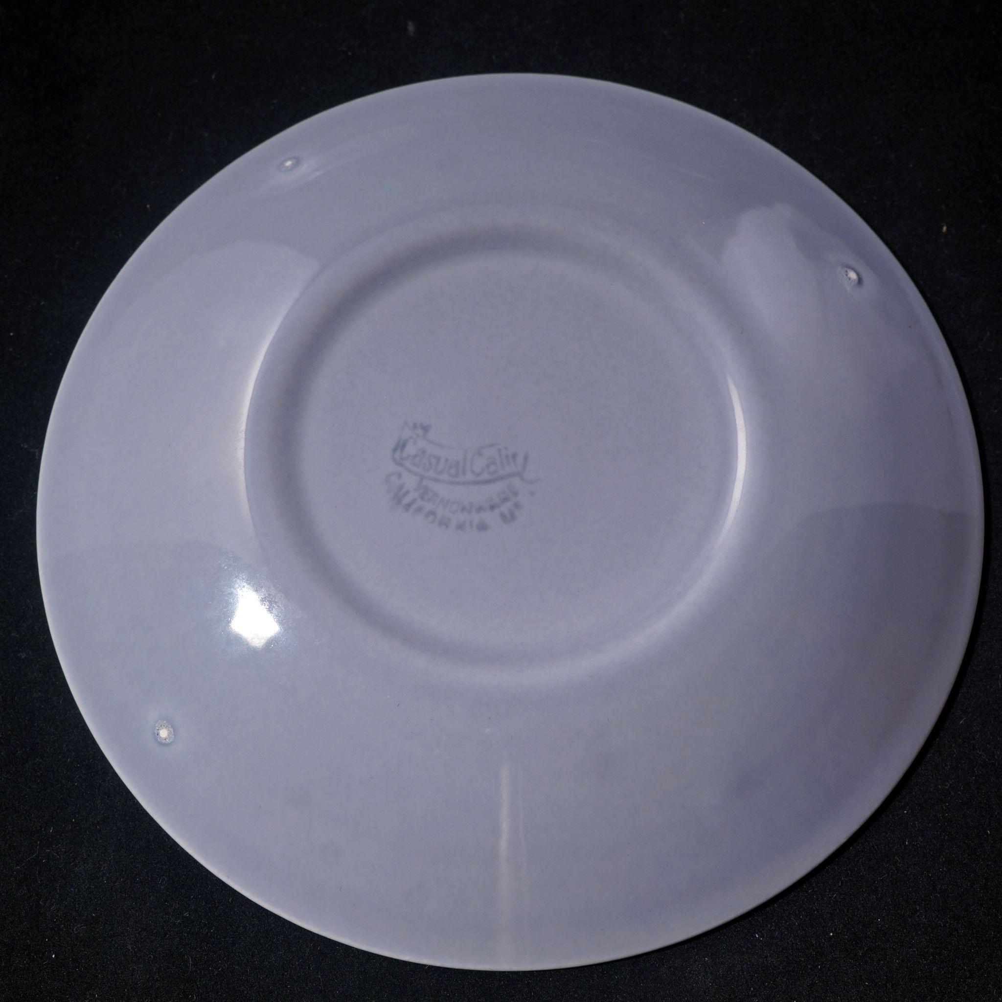 56 Piece Mid Century Vernonware Ceramic Dinnerware Set