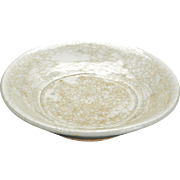 Chinese Song dynasty ceramic qingbai or celadon glazed saucer 13th century