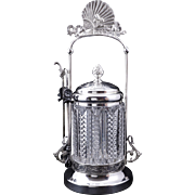 Victorian Aesthetic Movement pickle castor by Columbia late 19th century