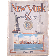 New York City 1914: The Wonder City Illustrated Book