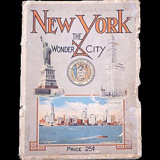 New York City 1914: The Wonder City Illustrated Book