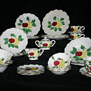 Blue Ridge Orchard Glory 33-piece service for 4