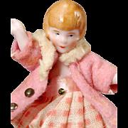 1920s Dollhouse Child Doll