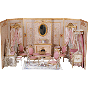 French Bedroom Room Box