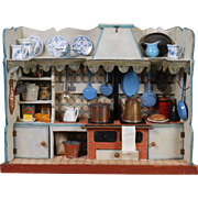 Wooden Dollhouse Kitchen