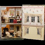 English Box Back Dollhouse Silber & Fleming