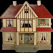 Moritz Gottschalk Dollhouse Tudor-styled circa 1924