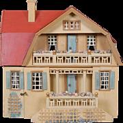 Moritz Gottschalk Red Roof Bungalow